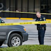 Shooting at a strip mall in Houston
