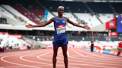 Mo Farah and Katarina Johnson-Thompson dominate at Anniversary Games in London