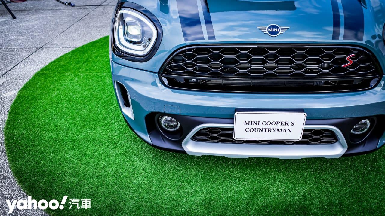 用最具個性的方式來鄉下住一晚!2021 Mini Countryman小改款登台亮相!