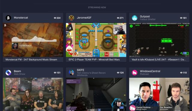 Beam's next update makes game livestreams more interactive