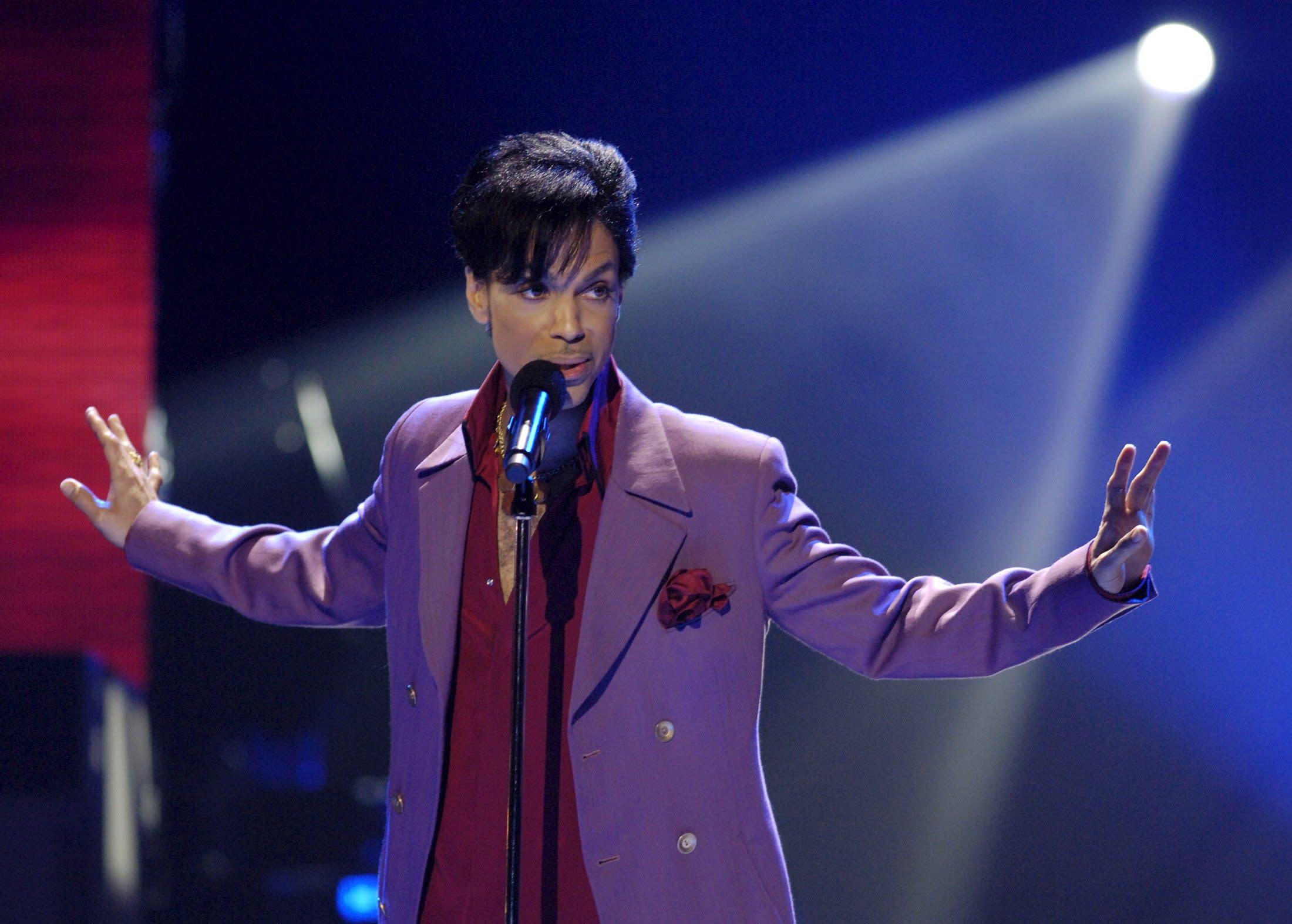 американский певец принц фото для