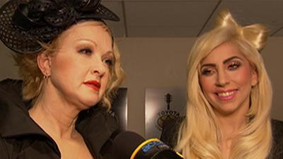 Lady Gaga And Cyndi Lauper Team Up To Fight AIDS