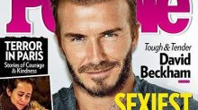 David Beckham Named People's Sexiest Man Alive