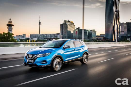 Nissan Qashqai相當受到歐洲消費者喜愛,在多個市場表現出色。