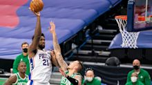Joel Embiid scores 42 as 76ers top Celtics