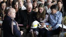 Volunteer firefighter farewelled in NSW
