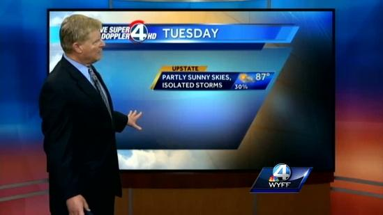 John Cessarich's Forecast for May 20, 2013