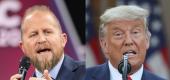 Brad Parscale, President Trump (Yahoo)