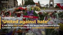 The Parliament Hill shooting was four years ago today