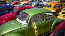 Volkswagen squashes beetle