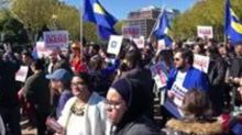 Transgender People, Allies Protest in Front of White House