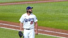 Dodgers' Clayton Kershaw scratched from Game 2 start in NLCS