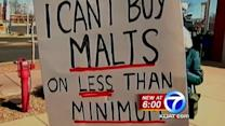Group boycotts local malt shop