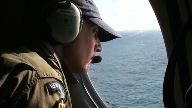 Search for potential debris of Flight 370