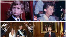 De niño a rey: los 51 años de Felipe VI, en imágenes