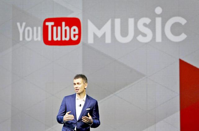 YouTube and Warner extend their streaming music deal