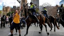 Anti-lockdown protesters clash with Sydney police
