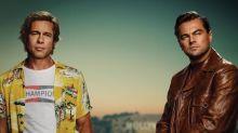 Leo DiCaprio y Brad Pitt nos llevan a los 60 con el cartel de Érase una vez en... Hollywood