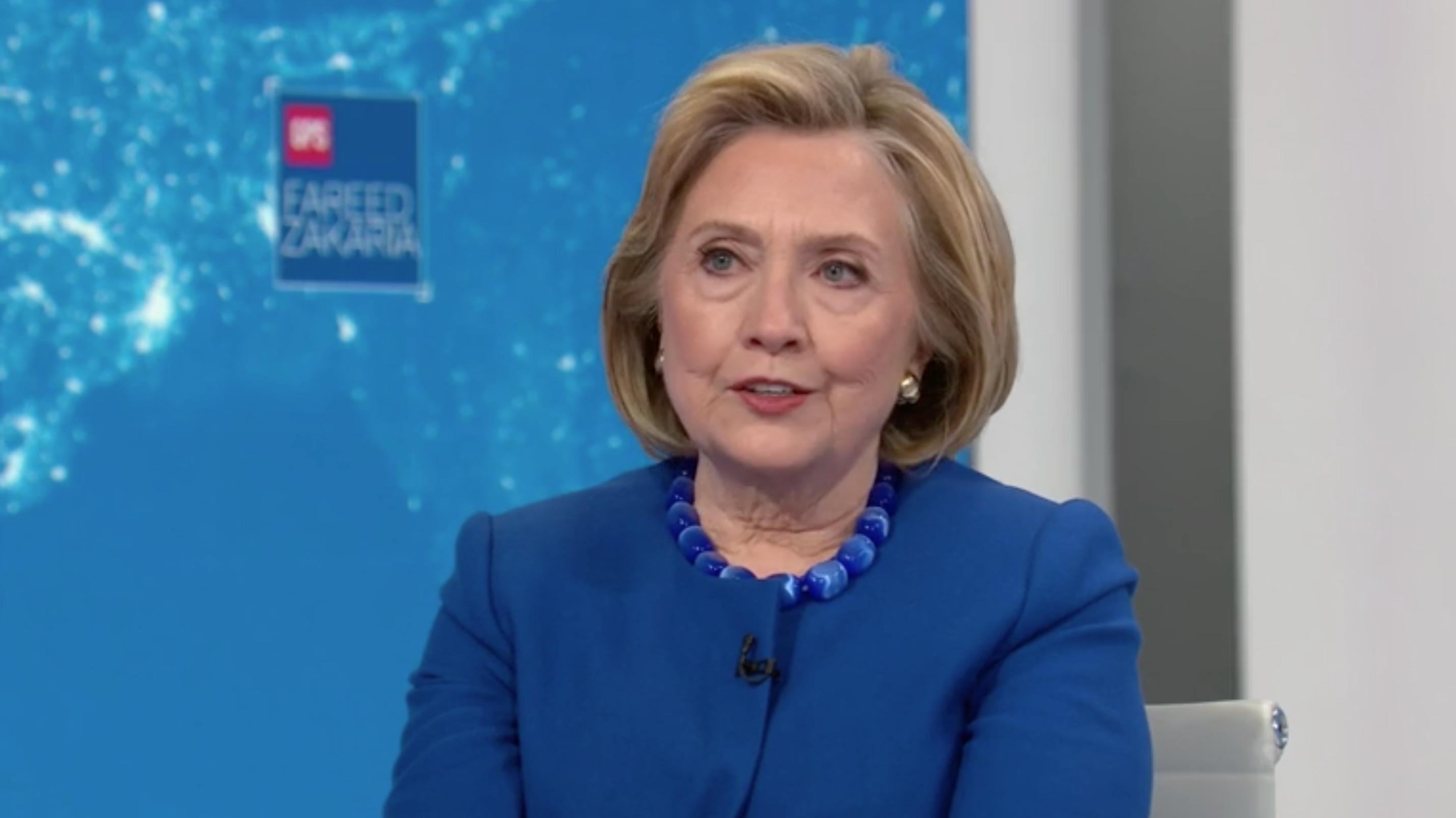 Hillary Clinton: Biden 'is building the kind of coalition that I had'