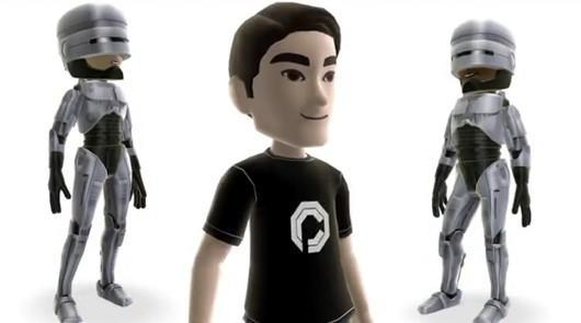 Robocop avatar items are part Avatar, part machine, all cop