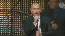 Remembering the time Vladimir Putin sang Fats Domino's Blueberry Hill really badly