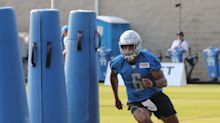 Detroit Lions WR Tyrell Williams back at practice after dislocating finger