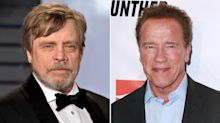 Mark Hamill Reveals He Once Suggested Arnold Schwarzenegger 'Lose His Accent' and Change His Name