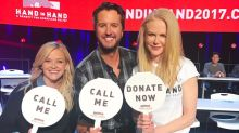 Hurricane telethon raises $44m with Reese Witherspoon, Nicole Kidman, George Clooney, Robert De Niro, Justin Bieber, Beyonce and more taking calls