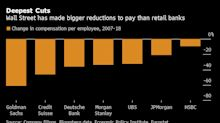U.S. Banks Are More Profitable Than Ever, But Wall Street Pay Is Slipping