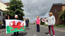 North Wales street on England-Wales border has two sets of lockdown rules