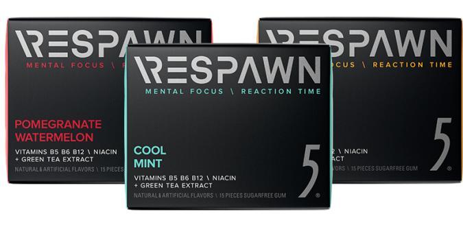 Respawn 5 gum