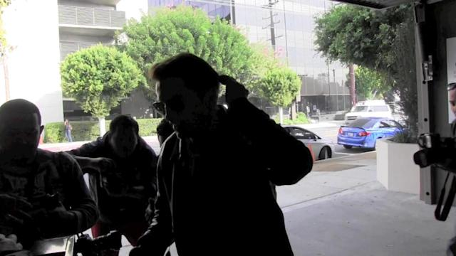 NEW VIDEO Olivier Martinez Tells Reporters He's