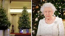 The Christmas trees are up at Buckingham Palace and they're as fabulous as you'd expect