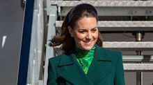 Kate Middleton wears head-to-toe green for Ireland visit