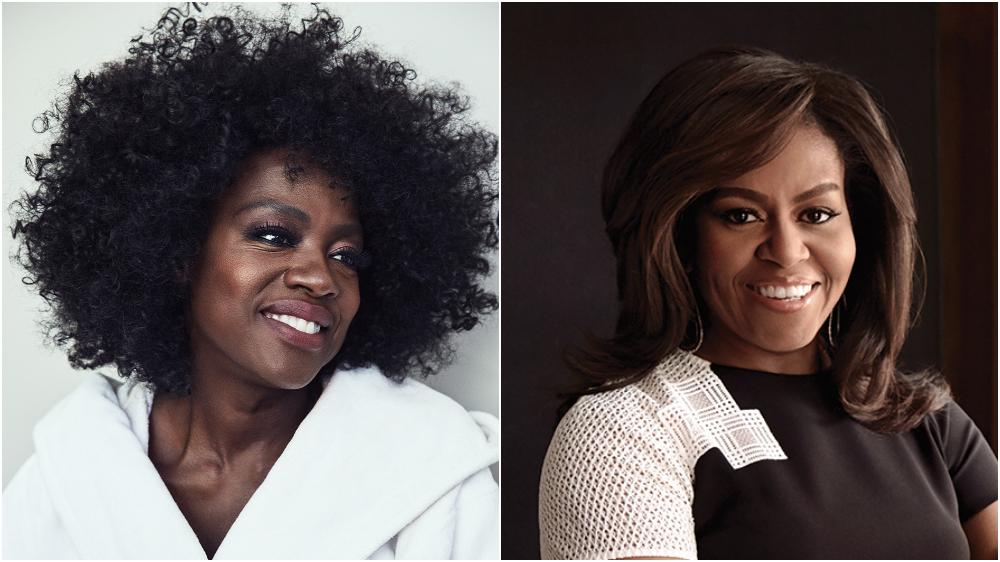 Image result for Viola Davis will play Michelle Obama in Showtime's 'First Ladies'