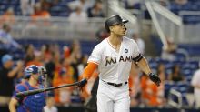 Giancarlo Stanton is now four homers away from 60