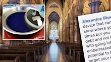 Church's 'ludicrous' tap-and-go collection plate divides opinion