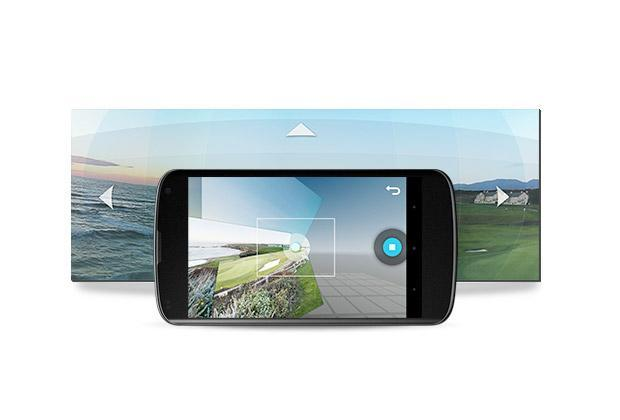 Android 4.2's Photo Sphere camera takes on iPhone's panorama mode