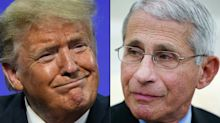Trump says 'everyone knows' that Dr. Fauci is a Democrat, despite the fact that he is not a member of any party