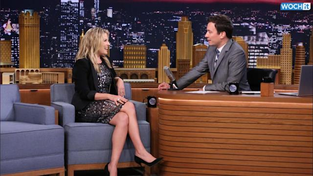 Ali Larter Announces Her Second Pregnancy On 'The Tonight Show'