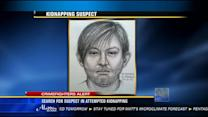 Search for suspect in attempted kidnapping