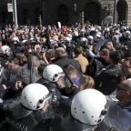 Russia accuses Serbian opposition of stoking violence with protests