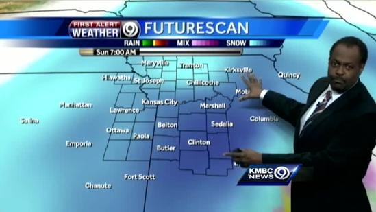 First wave of snow moves through metro