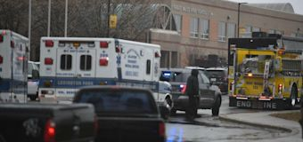 Armed officer ends Maryland school shooting