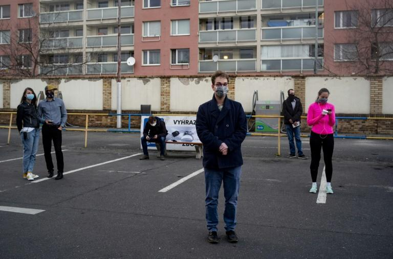 Authorities say there is a shortage of masks (AFP Photo/Michal Cizek)