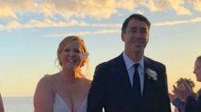 Amy Schumer eligió para su boda el primer vestido de novia que se probó