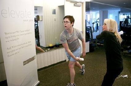 Get fit with Wii at Westin Hotels