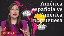 Por qué la América española se dividió en muchos países y Brasil quedó en uno solo