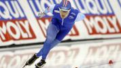 Why speedskaters will wear blue at Olympics