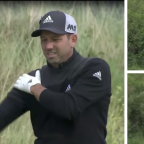 Sergio Garcia's Open nearly comes to an end following fight with a gorse bush